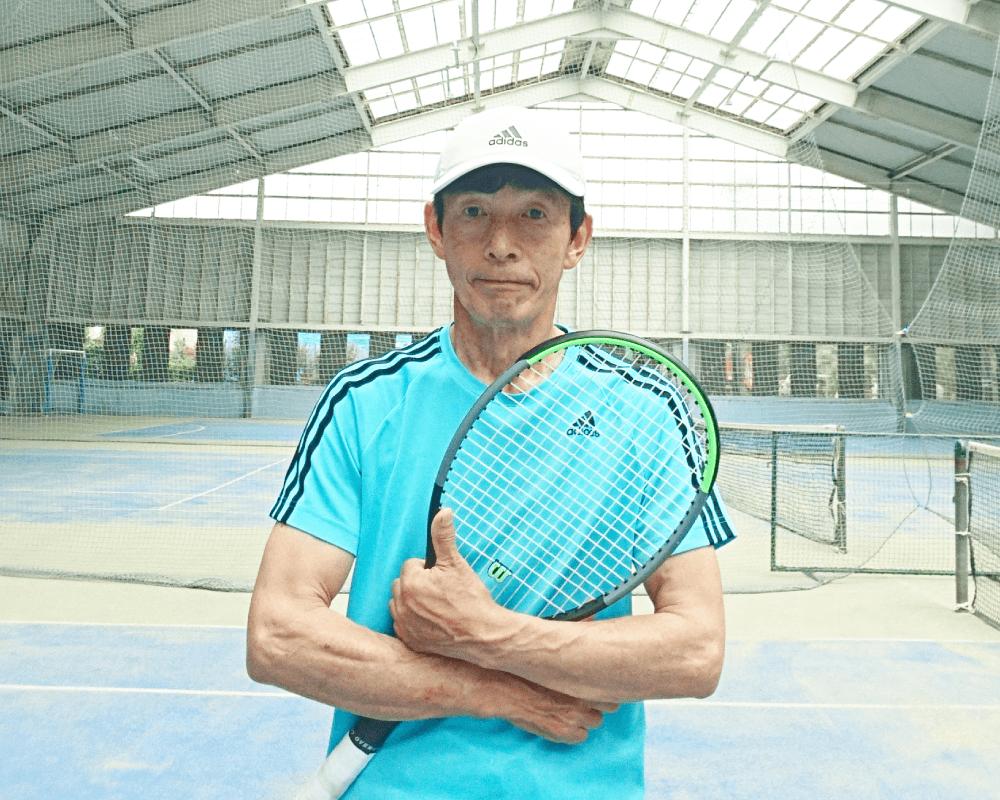 マスタケテニススクール代表コーチ 増山 武